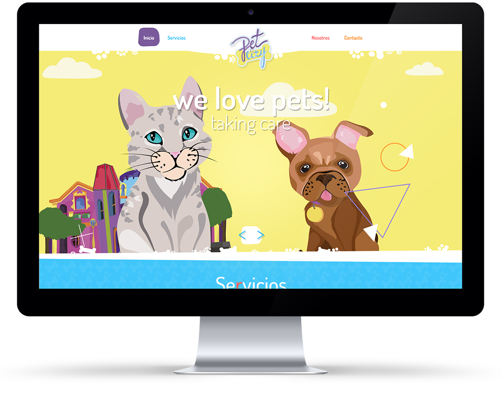 Petcity website - we lo ve pets!