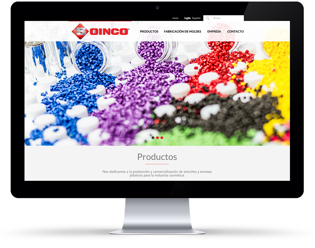 Soinco website