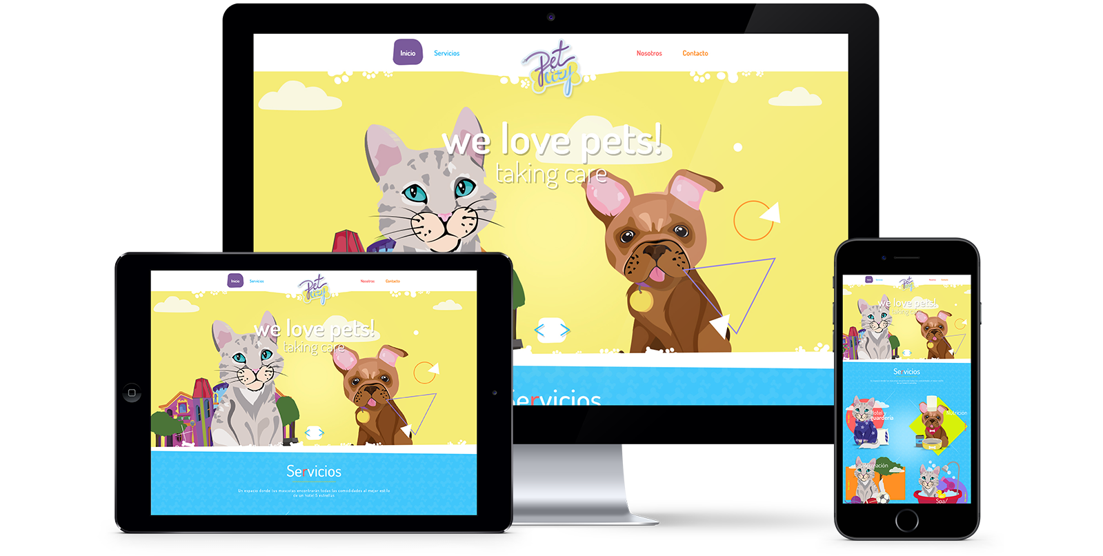 Petcity website - totally responsive