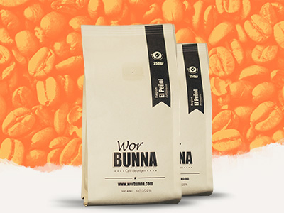 Worbunna Colombian coffee website